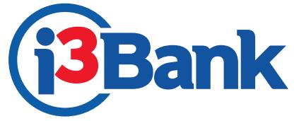 i3 bank logo